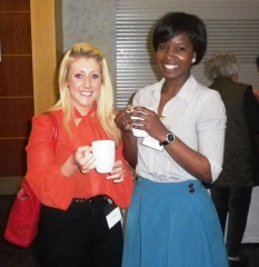 Junior Doctors Networking in the coffee break